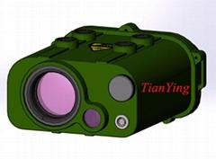 20km 0.2Hz Continuous Rate Eye Safe Laser Rangefinder Binoculars