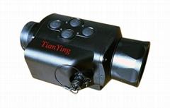 巡羅者1x24強光自動關閉紅外線單目觀察微光頭盔夜視儀