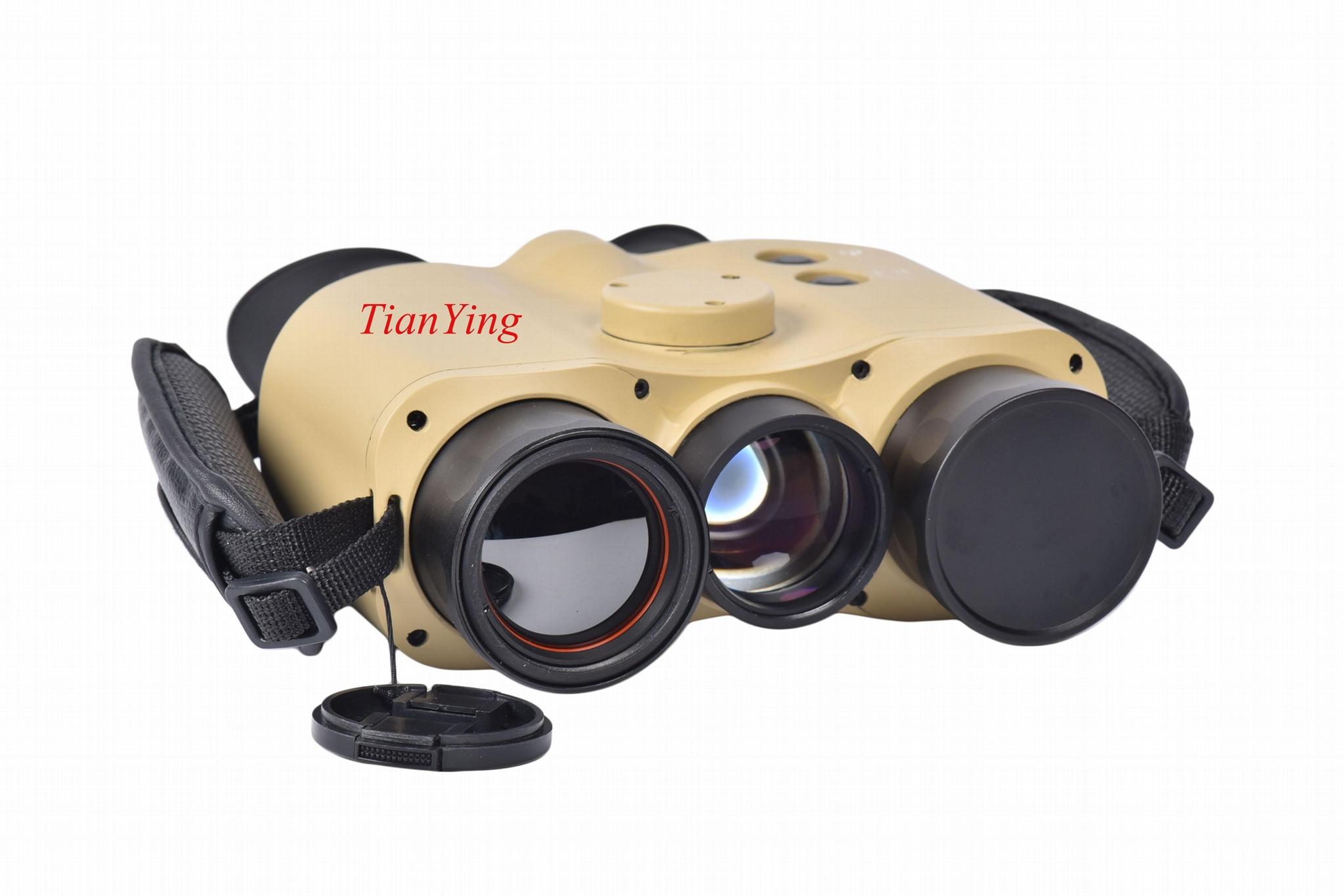 1.2kg Weight IP67 Military Handheld Thermal Imaging Binocular for Sniper-Solider