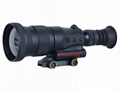 1024x768 display 800m .338 cailber Sniper Thermal Sight Scope