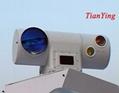 10km Tank CCTV Thermal Camera Laser Rangefinder Auto Tracker Surveillance System