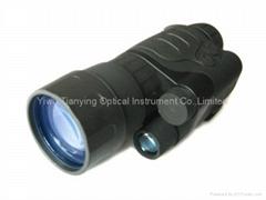 白俄羅斯Yukon玉昆3x50超一代管紅外線單筒微光夜視儀