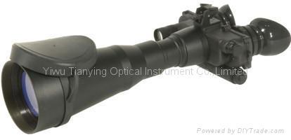 俄羅斯DVS-8分辨率55線每毫米紅外線雙目頭盔式微光夜視儀 -2