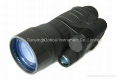 Yukon 4x50 Gen.1+手持單筒微光紅外線夜視儀