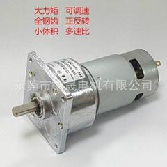 60GA775F永磁直流齒輪減速電機