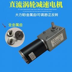 5882GW-50ZY大力矩蝸輪蝸杆減速電機