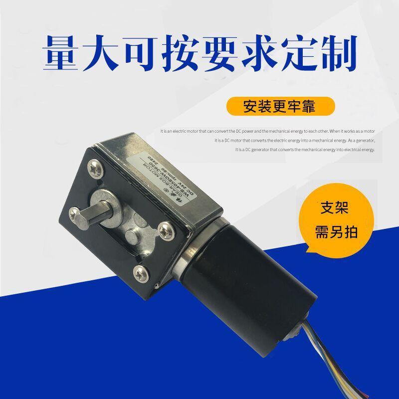 4058GW直流無刷渦輪蝸杆減速電機 4