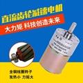 37GA520R永磁直流齒輪減速電機 直流減速馬達 直流減速電機可調速 1