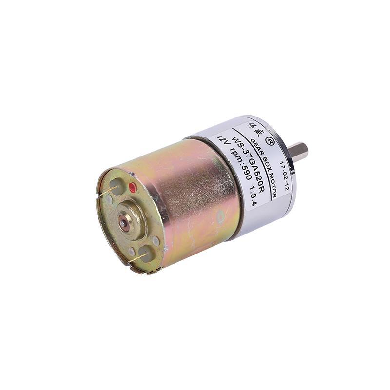 37GA520R永磁直流齒輪減速電機 直流減速馬達 直流減速電機可調速 5