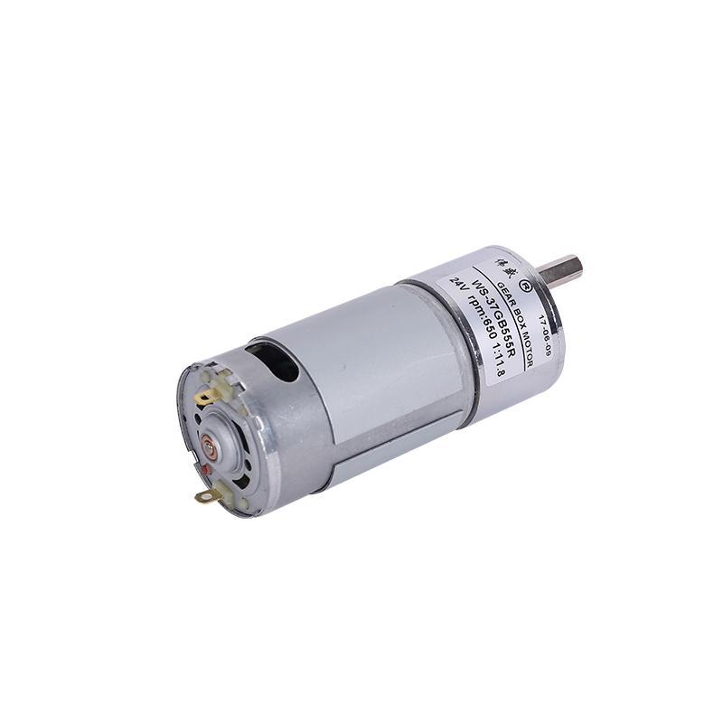 37GB555R微型永磁直流齒輪減速電機 低速直流減速電機  直流減速馬達 5