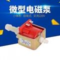 MP4744沙发清洗机微型水泵47DSB电磁泵48W电磁泵 自吸式磁力泵 1