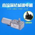 涡轮蜗杆减速电机 微型慢速减速