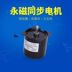 60KTYZ微型低速永磁同步交流电机慢速正反转小马达220V减速电动机