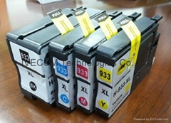 Copatible hp932 hp933 inkjet cartridge for hp 8100 8600
