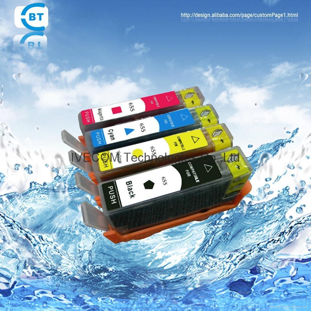 HP655 墨盒 適用於HP 3525 5525 4615 4625 1
