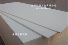 全杨木CARB板式家具专用胶合板