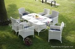 益可美户外桌椅