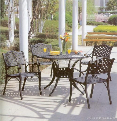 益可美户外桌椅 3