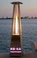 玻璃管火焰取暖器