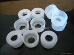 vial closure for autosampler snap vials
