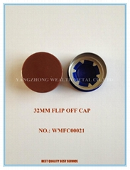 32MM FLIP OFF CAP