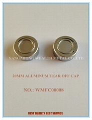 20MM ALUMINUM TAER OFF CAP