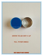 20MM TEAR OFF CAP