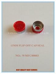 13MM FLIP OFF CAP