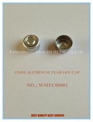 13MM ALUMINUM TEAR OFF CAP