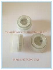 38MM EURO CAP