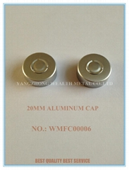Aluminum Cap for Antibiotic Bottle