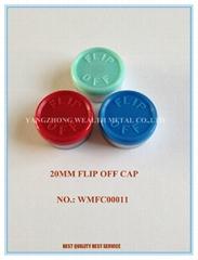 20 MM Flip off seals for Medical Use