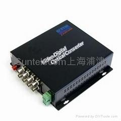 音频视频带数据光端机