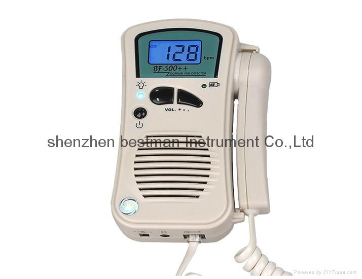 BSM CE/FDA Pocket Fetal Doppler BF-500++ Home Use    1