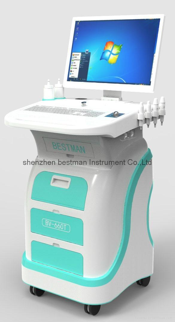 Peripheral vascular disease detector for ABI TBI 1