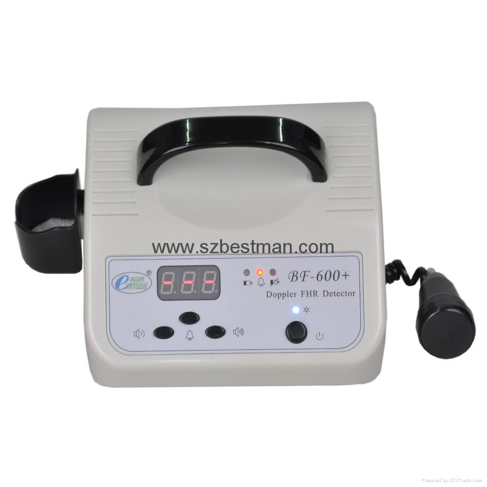CE/FDA Portable Fetal Doppler BF-600+ Home Use     1