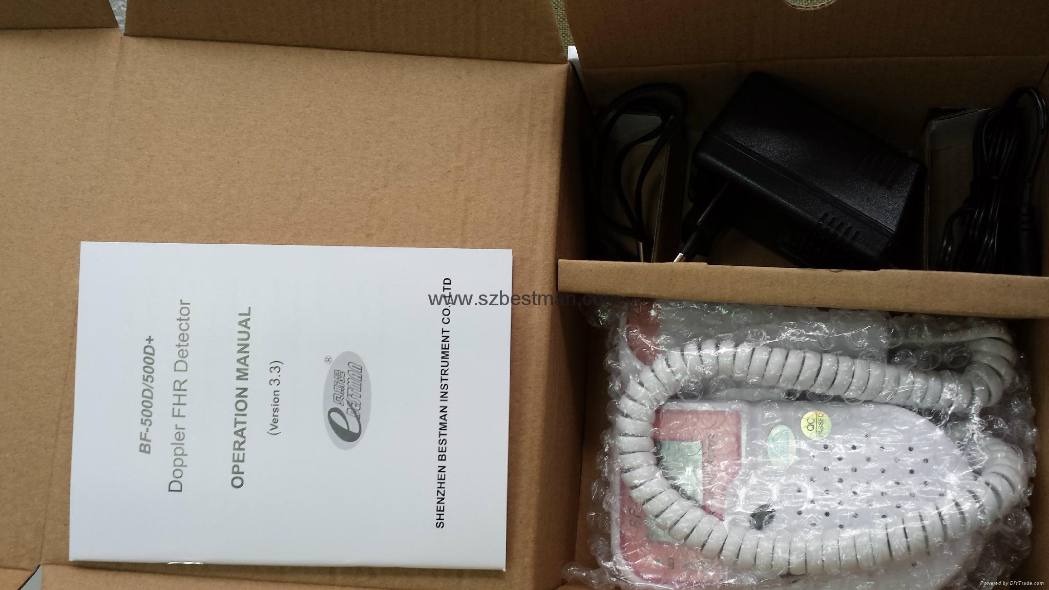 Blue tooth mobile app fetal Doppler BF-500D+ 9