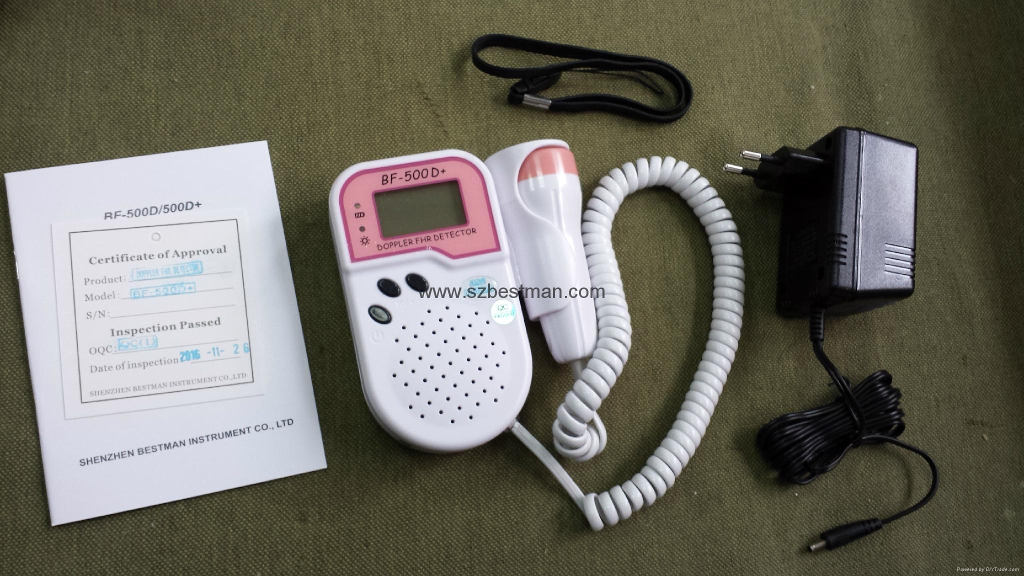 Blue tooth mobile app fetal Doppler BF-500D+ 11