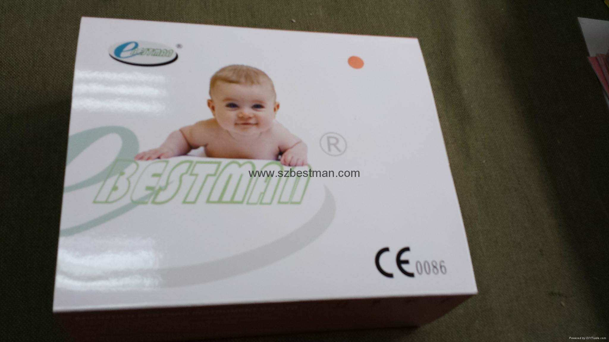 BSM CE/FDA Pocket Fetal Doppler BF-500D+ bluetooth LCD screen    2