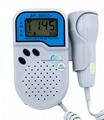 BSM CE/FDA Pocket Fetal Doppler BF-500D+ bluetooth LCD screen    9