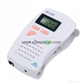 hand held fetal doppler,fetal heart rate doppler,pocket fetal doppler price 4