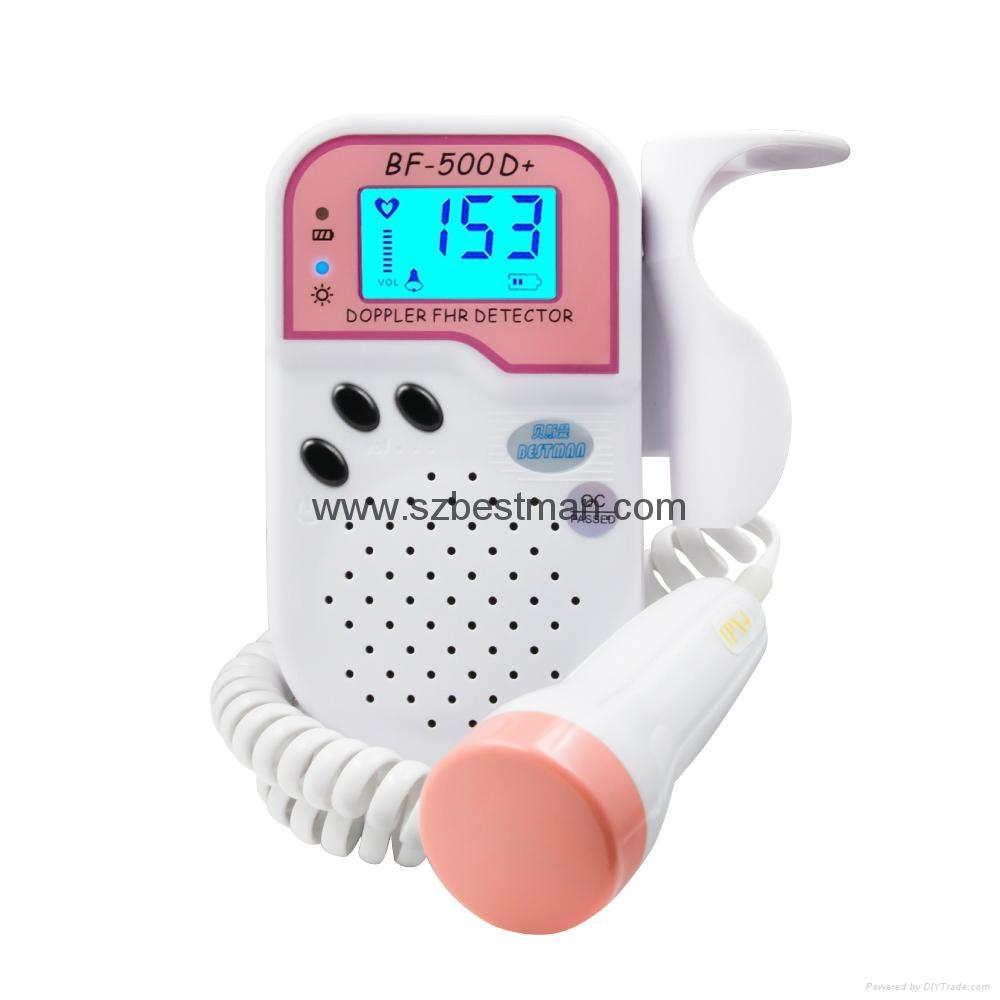 Blue tooth mobile app fetal Doppler BF-500D+ 5