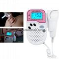 Blue tooth mobile app fetal Doppler BF-500D+ 3