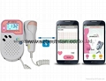 Blue tooth mobile app mini fetal Doppler
