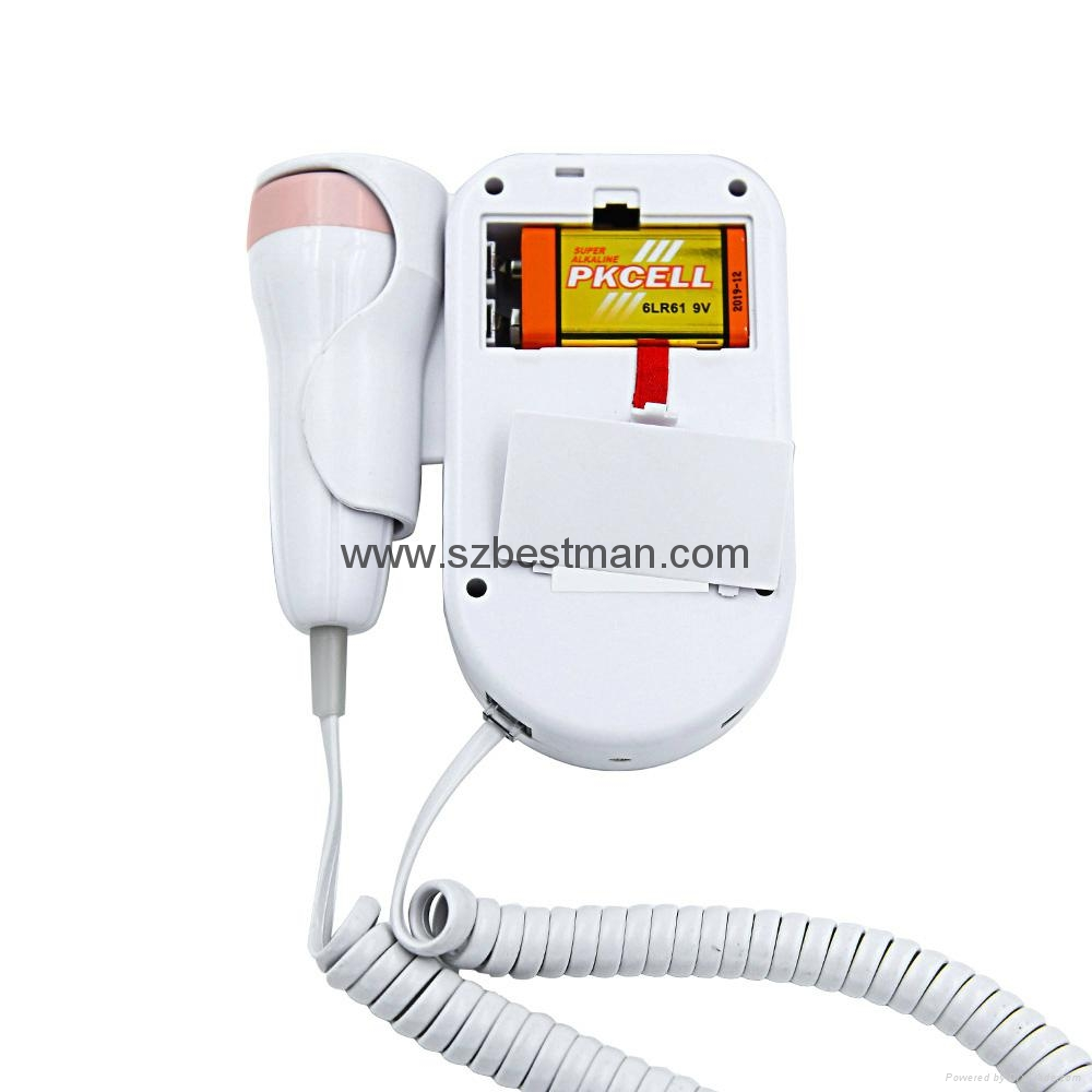Blue tooth mobile app fetal Doppler BF-500D+ 11