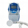Bestman CE/FDA Pocket Fetal Doppler BF-500A Home Use    5