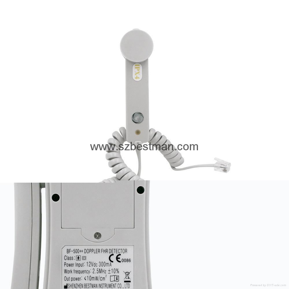 CE/FDA Pocket Fetal Doppler BF-500++ Home Use    7