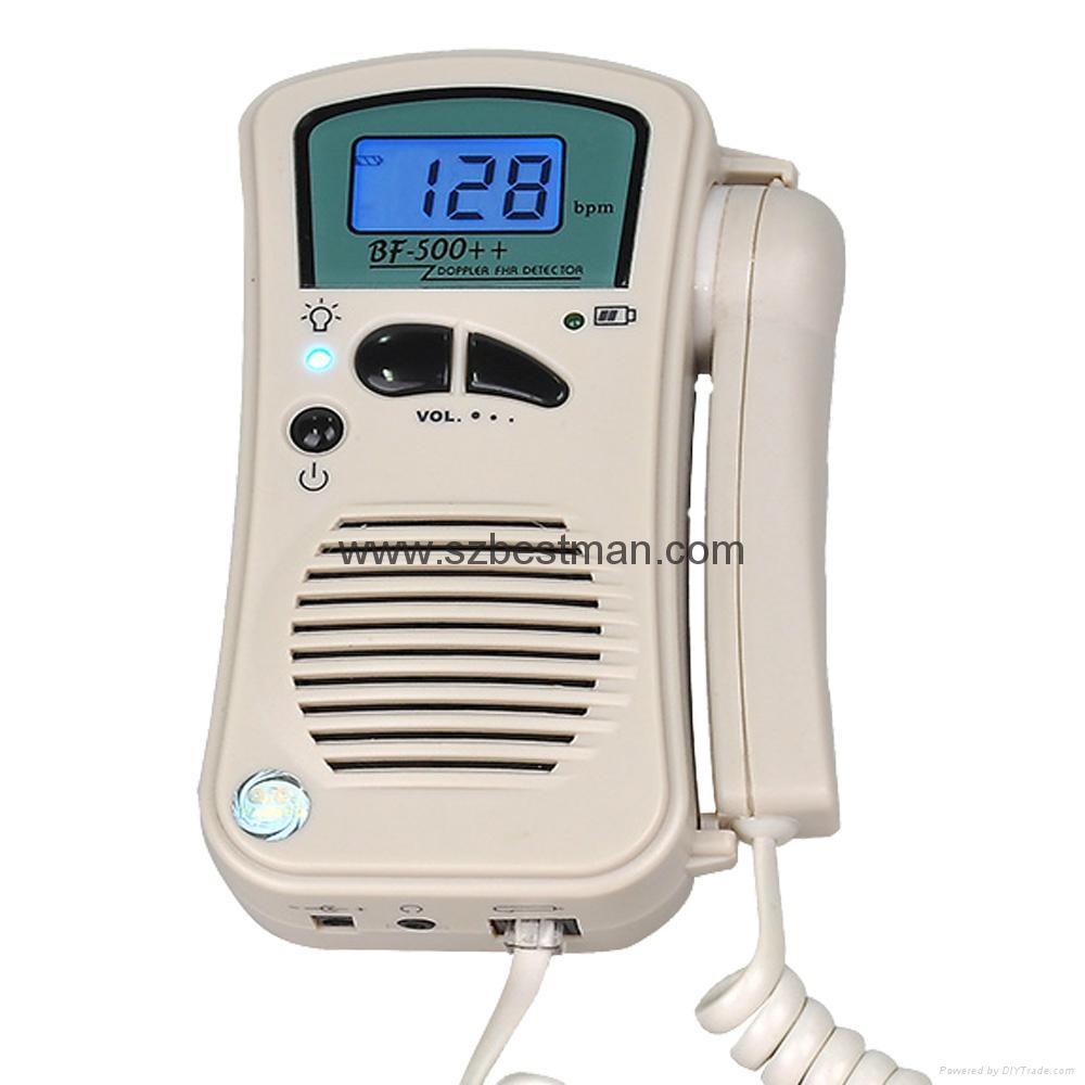CE/FDA Pocket Fetal Doppler BF-500++ Home Use    8
