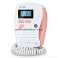 Bestman CE/FDA Pocket Fetal Doppler BF-560 Home Use     7