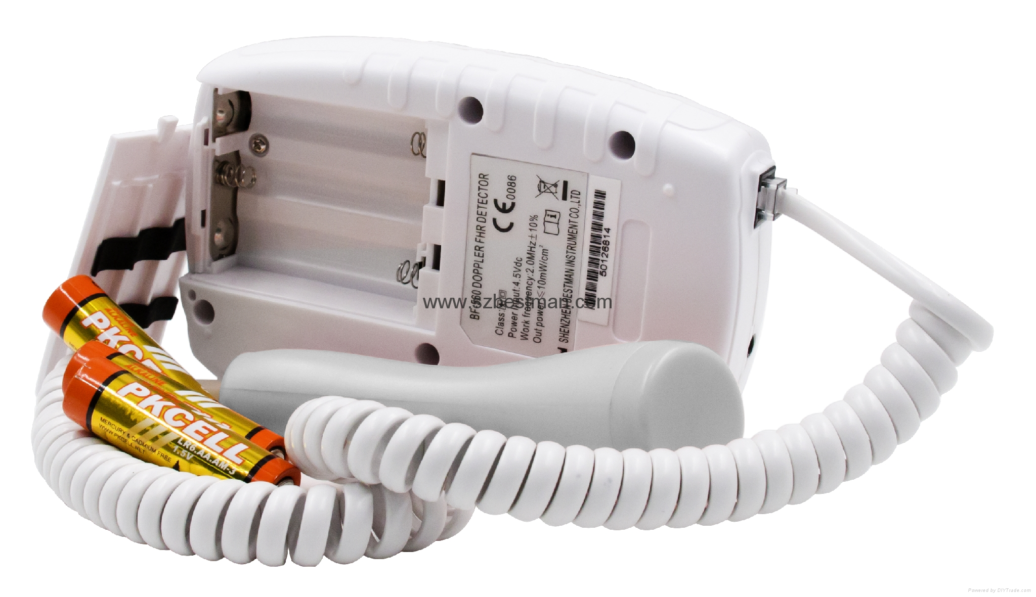 Bestman CE/FDA Pocket Fetal Doppler BF-560 Home Use     5